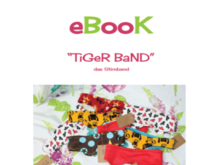 "E-Book ""TiGeR BaND"", das Stirnband"