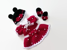 Minnie Mouse Doll Pattern