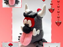 Häkelanleitung Monster in Love, Amigurumi
