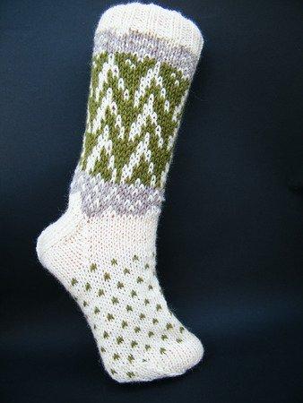 Anleitung Für Socken Mit Zackenmuster Für Gr 3839