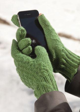 handschuhe finger frei f r sms stricken. Black Bedroom Furniture Sets. Home Design Ideas