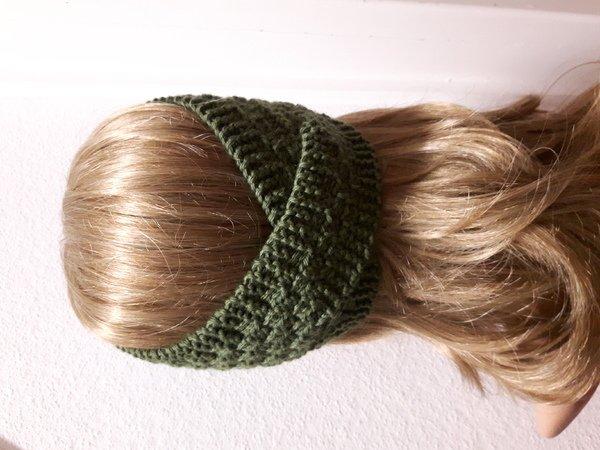 Stirnband stricken, einfache Anleitung