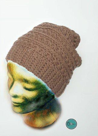 Beanie Häkeln Mütze Häkelnsternchenmuster