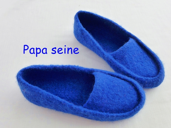 Knitting pattern - felt slipper / socks -any sizes!