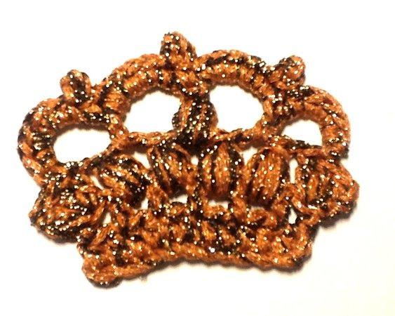 Krone Häkeln Wollreste Perlen Verarbeiten