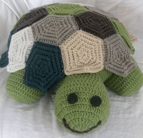 Schildkröte Zeitreise Häkeln
