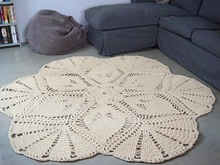 Rug Life is a Flower crochet pattern