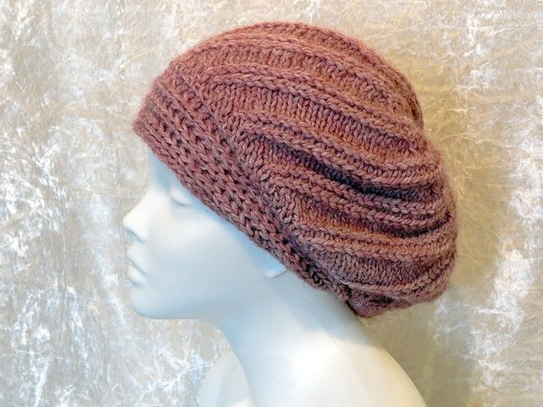 Knitting Pattern Instructions Explained : Knitting pattern hat, beanie, slouch, toque Varya