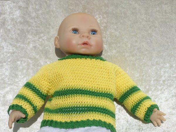 Häkelanleitung Basic Pullover Alle Größen Sehr Einfach