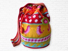 Tutorial Crochet Bag Mochilla