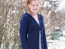 "Strickanleitung Jacke ""Night in Sydney"""