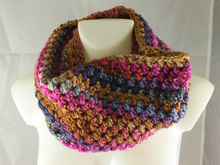 Loop-scarf Greta - crochet pattern