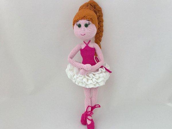 Ballettschuhe und Tütü für Anziehpuppe Lorelei