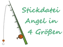 Stickdatei Angel