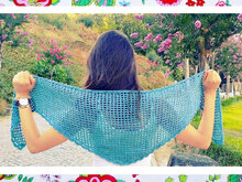 Wings Shawl- Beginners Crochet pattern