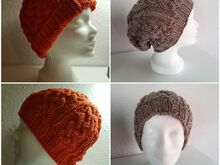 "Flexible Beanie ""Zopf"" (3-in-1)"