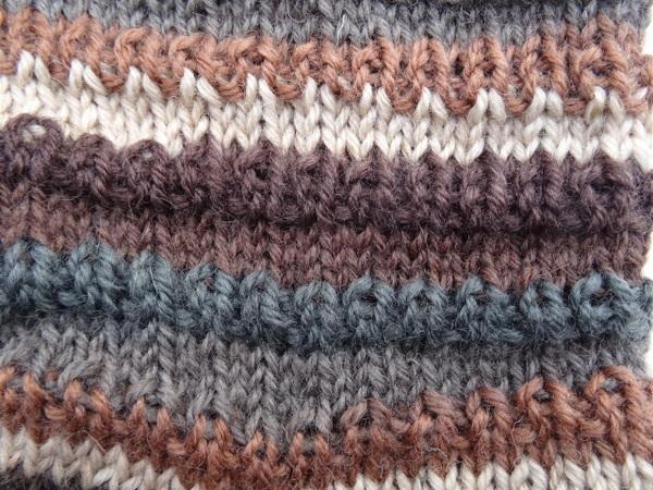 Strickanleitung Für Socken Mit Wellenmuster Für Gr 4142