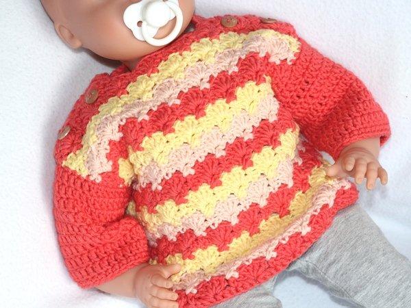 Baby Pullover Häkeln Anfänger Hindu Tube