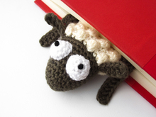 Amigurumi Crochet Sheep Bookmark