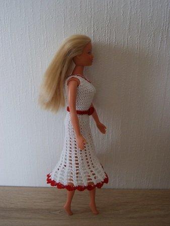 Häkelanleitung Barbie Set 5 Teilig Kleid Jacke Hut Gürtel Tasche