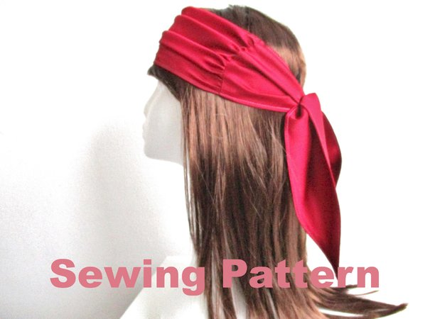 Women headband Hairscarf Headscarf Pattern
