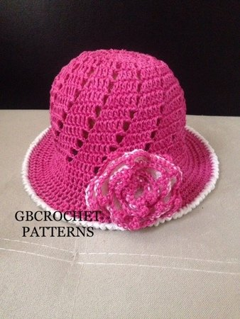 Mom and baby spring and Summer Crochet Baby to Adult Size Sun Hat ... a1395d208c0