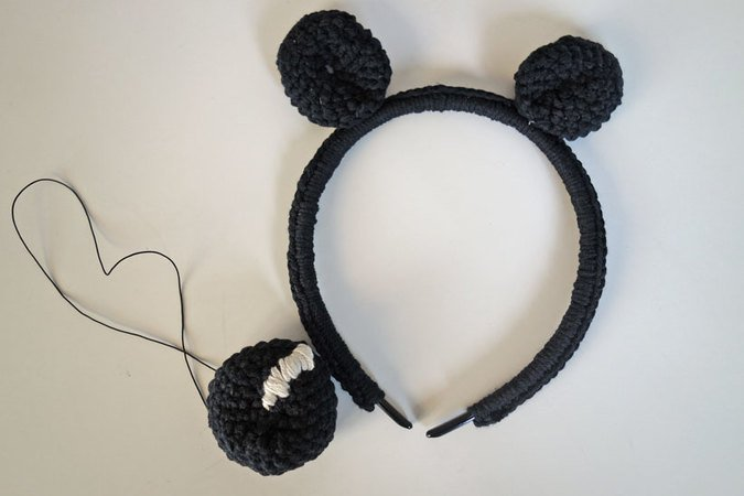 Mickey-Mouse-Set Häkelanleitung