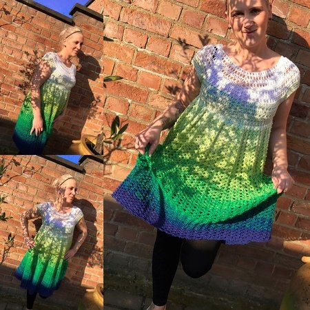 Kleid häkeln / alle Größen + Design von nicje