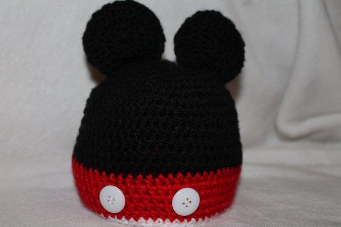 Baby Mütze Mickey Maus