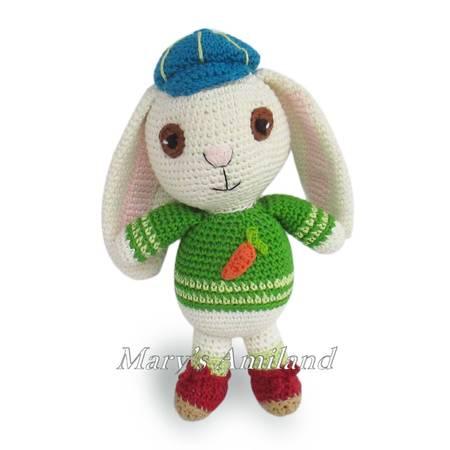 121 Rabbit Dude pattern by LittleOwlsHut | Crochet rabbit, Crochet ... | 450x450