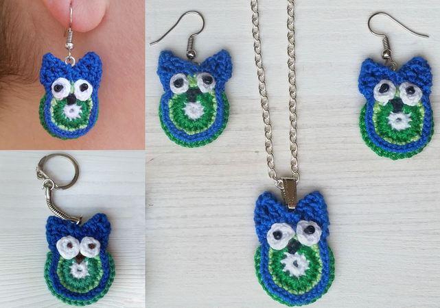 Amigurumi owl keychain pattern | Связаные крючком куклы, Узор для ... | 450x641