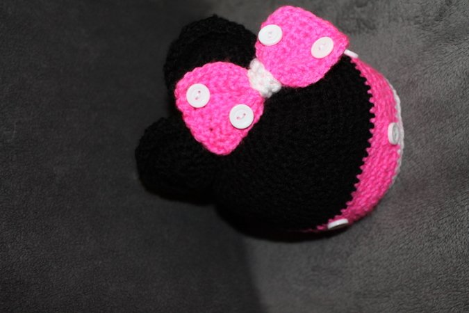Baby Mütze Minnie Maus