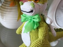 Free Crochet Pattern. Dragon