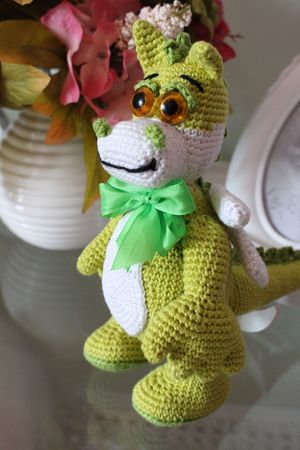 Free Crochet Pattern Dragon