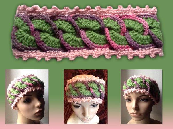 romantische Stirnband