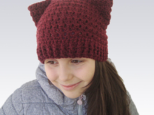 Easy Pussy Cat hat with ears