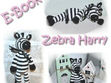 Häkelanleitung - Zebra Harry - E-Book Zebra Harry