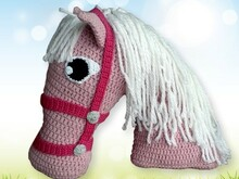 Horse Pillow Crochet Pattern