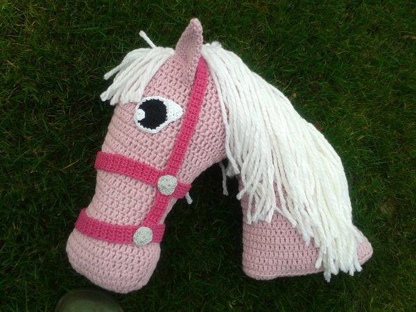 Horse Pillow Crochet Pattern
