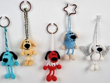 Crochet Pattern Dog Key Ring / Bag Pendant