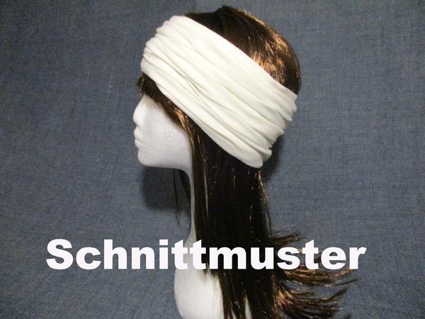 Jersey Stirnband Haarband Ohrwärmer Schnittmuster