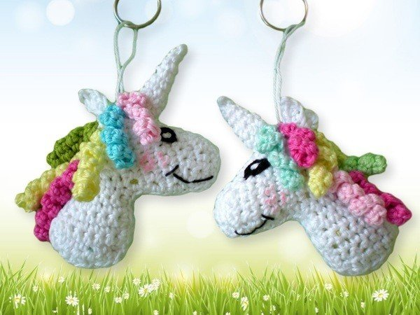 Crochet pattern little unicorn PDF English- Deutsch- Dutch Ternura ... | 450x600