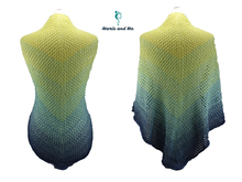 Aschenputtel - triangle shawl (knitting)