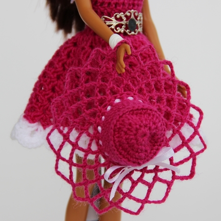 Crochet patterns: Doll clothes collection 'Swing'