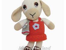 Dana Sheep The Ami - Amigurumi Crochet Pattern