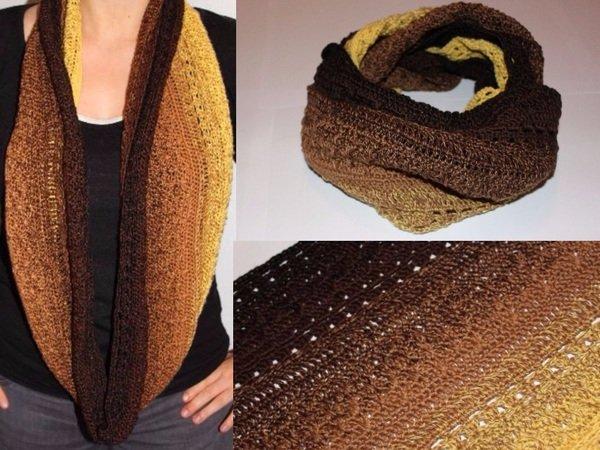 Crochet Pattern Loop Scarf Johanna
