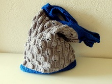 "Market Bag Knitting Pattern ""Onions and Garlic and more"""