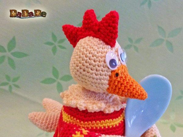 Eierwärmer Huhn Nicht Nur Zu Ostern Gehäkelt Von Dadade
