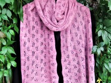 "Knitting Pattern Stole ""PaYaLa"""