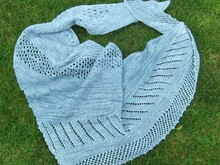 Knitting Pattern Shawl LaPuLi